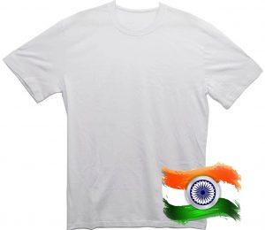 Белая футболка из Индии