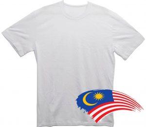 Белая футболка из Малайзии