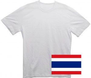 Белая футболка из Таиланда