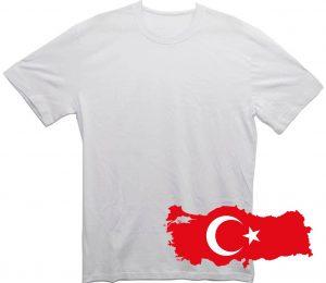Белая футболка из Турции