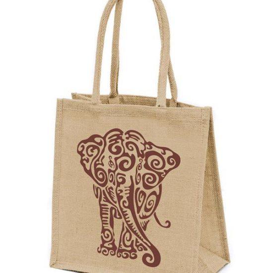 Купить джутовую сумку недорого в Бишкеке в Фабрике Рекламы