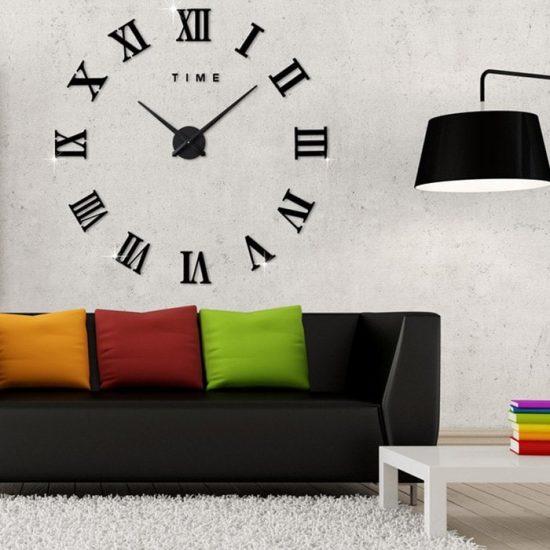 Заказать часы акрилловые креативные для подарка в Бишкеке